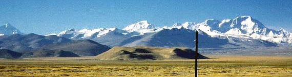 view of Cho Oyu, Mt. Cho Oyu Expedition, Tibet expedition